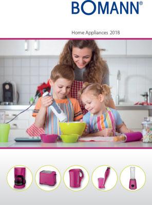 catalogo bomann pequeño electrodomesticos 2018