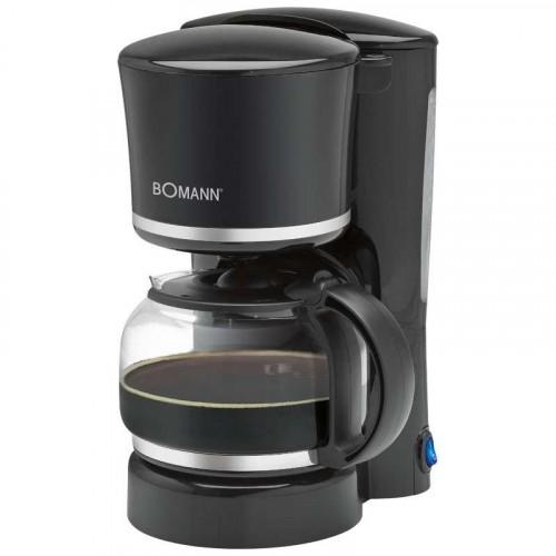 Bomann Cafetera 8-10 tazas KA 1575 negra