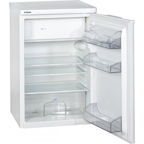 Bomann Frigorífico con congelador 118L A++ KS 197 blanco