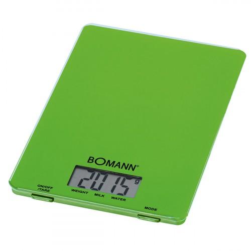 Bomann Balanza Digital de Cocina KW 1515 verde