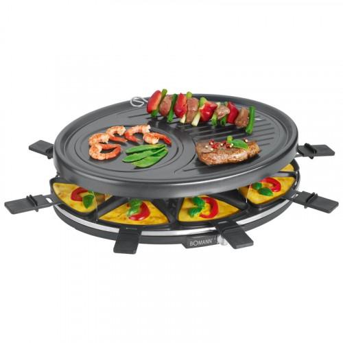 Bomann Raclette para 8 personas RG 2247