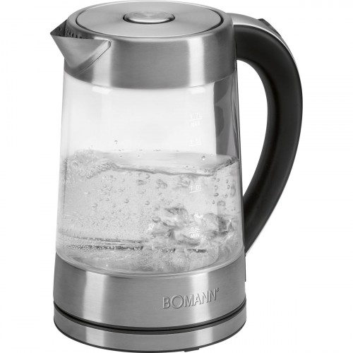 Bomann Hervidor agua 1,7 Litros WK 5023 Cristal
