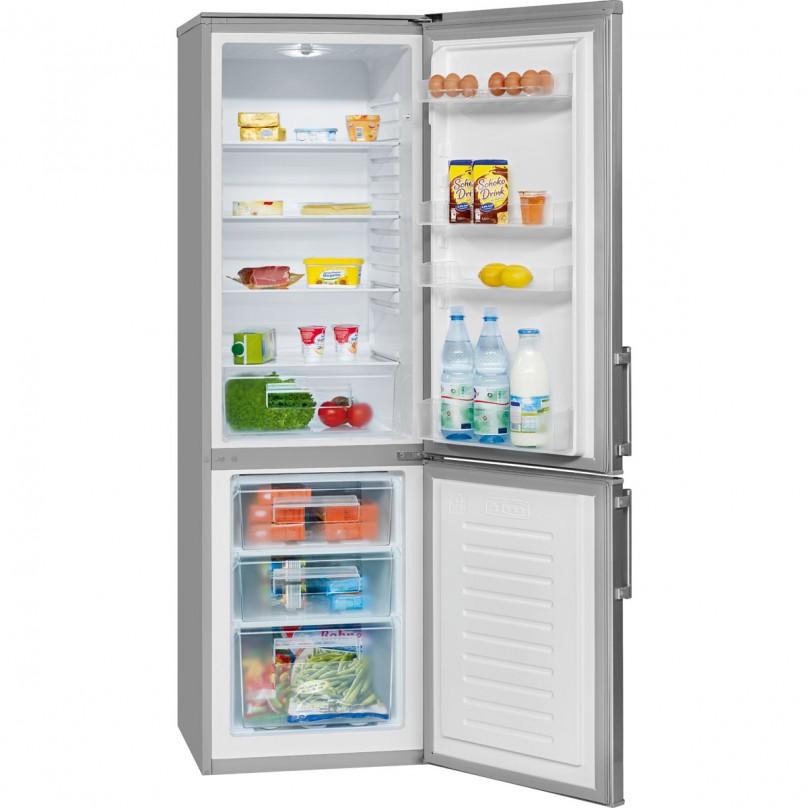 bomann frigor fico combi 241l a kg183 plata. Black Bedroom Furniture Sets. Home Design Ideas
