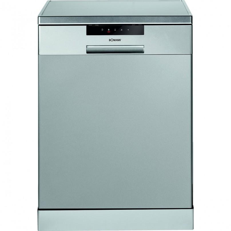 Bomann lavavajillas 60cm 14 cubiertos a gsp 850 color plata for Medidas lavavajillas 60